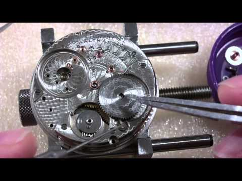 How I put together a pocket watch. Waltham Crescent St.