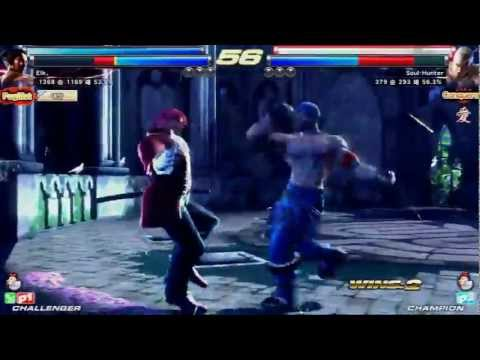 Tekken Tag 2 Unlimited Soul-Hunter (Bryan/Law) vs Najin (DevilJin/Bob)