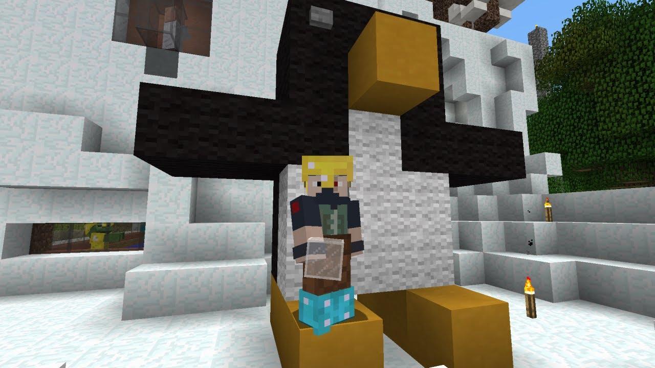 Minecraft Penguin Build