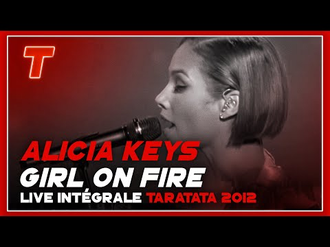 Alicia Keys girl On Fire (live Tv Taratata) video
