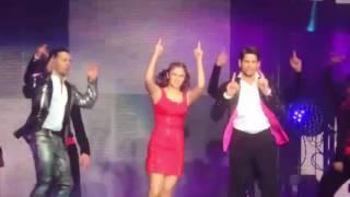 The Disco Song Alia Bhatt, Sidharth Malhotra and Varun Dhawan Dream Team Concert HD