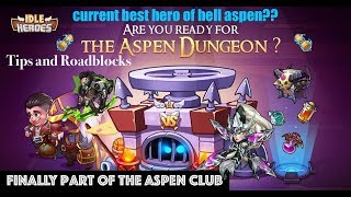 Idle Heroes Aspen - About TIME!  Gates of Heaven Opened!