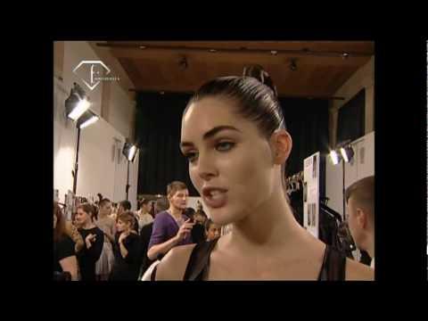 fashiontv | FTV.com - First Face Talks S/S 07 Hilary Rhoda
