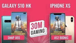 [30M Gaming #31] Galaxy S10 vs iPhone XS: Snapdragon 855 hay A12 Bionic?