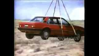 Chevrolet Monza: Publicidad de Lanzamiento en Colombia (1985)