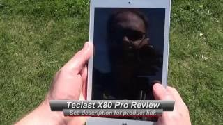 Teclast X80 Pro 8 inch Android and Windows Tablet Review