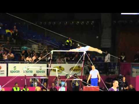 Larisa Andreea IORDACHE ROU, Bars, Team Final, European Gymnastics Championships 2012