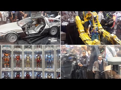 Hot Toys display at Sideshow Collectibles SDCC 2014
