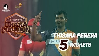 Thisara Perera's 5 Wickets Against Cumilla Warriors
