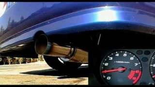 HONDA Civic Si 2000 (EM1) Greddy TiC Racing Exhaust