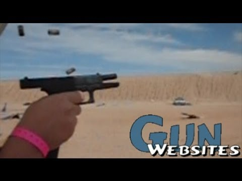 Shooting Full Auto Glock 18