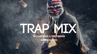Bass Boosted Trap Mix 2017 Hard Trap Music