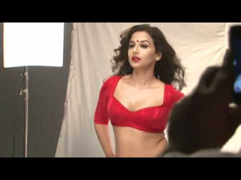 The Dirty Picture Poster - Making - Vidya Balan's Hot Photoshoot