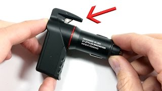 This Car Charger will SAVE YOUR LIFE!! (Really!)