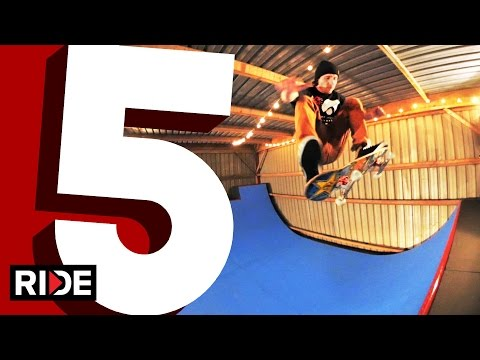 Greg Lutzka's Five Favorite Mini Ramp Tricks