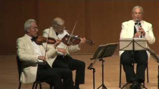 Guarneri Quartet / David Shifrin - Brahms Clarinet Quintet, Movt. 2 Part 2