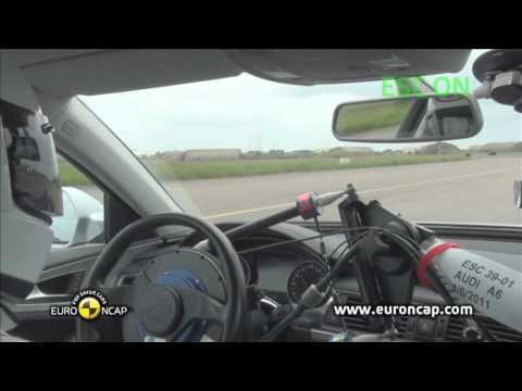 Euro NCAP | Audi A6 | 2011 | Электронный контроль устойчивости