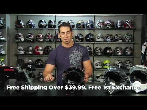AGV AX-8 DS EVO Helmet Review at RevZilla.com