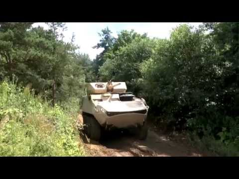Defence Vehicle Dynamics 2014 – General Dynamics Land Systems (Canada) Light Armoured Vehicle (LAV)