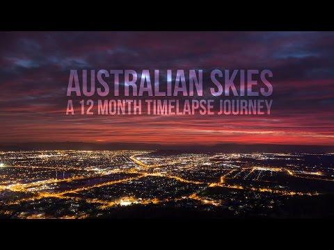 Australian Skies - A 12 month timelapse journey (in 4K)