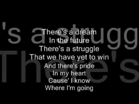 Lyrics to I know where ive been  from hairspray