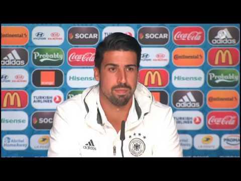 DFB Pressekonferenz: Sami Khedira 15/06/16