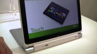 Acer Iconia W510 Tablet with Keyboard Dock Hands On - Computex 2012