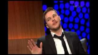 Jack Reynor The Late Late Show Interview. RTE 1 15th February 2013.