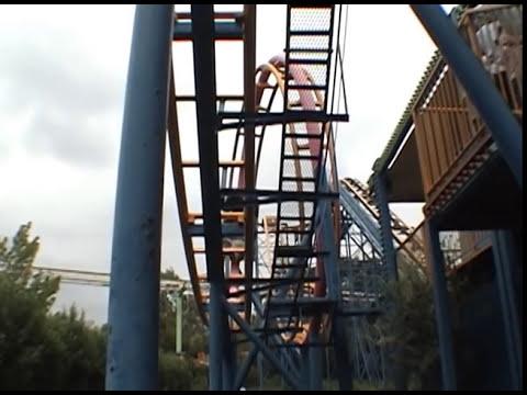 Togo Looping Crazy Mouse Bizarre Japanese Roller Coaster POV Tobu Zoo Japan