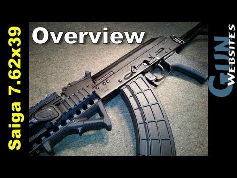 Saiga. Russian AK47 Overview