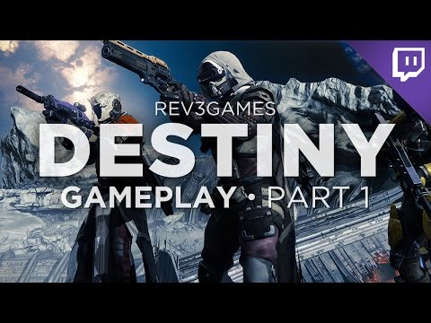 Nick and Jackie Play Destiny - From the Beginning!