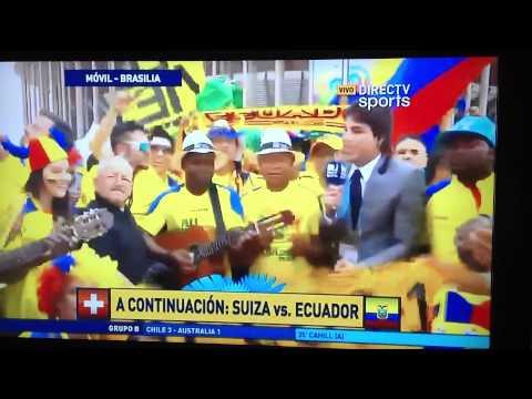 Eduardo Andino y la previa de Ecuador vs Suiza.