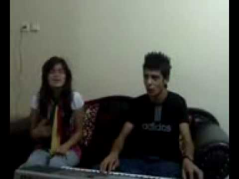 Kurdish Girl And boy singing_kchi u kuri kurd gorani alen