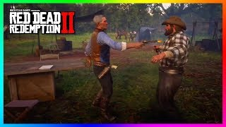 Hosea Almost Kills Bill Williamson During This SECRET Encounter In Red Dead Redemption 2! (RDR2)
