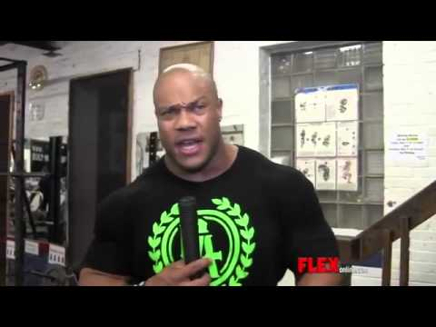 Phil Heath Shoulder Workout Mr Olympia 2013 RUS