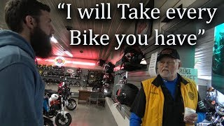 How I bought every single used  bike at the Dealership