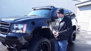 Spotlight - 2011 Chevy Tahoe with 20x10 Hostile Sprocket on 35's