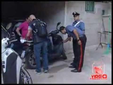Napoli - Operazione anti-droga a Scampia (live 31.07.12)