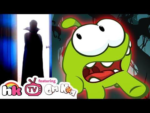 Halloween Special | Om Nom Stories | Scary Halloween Cartoons for Kids Children by HooplaKidz TV!!!