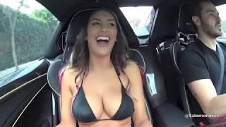 Авто приколы на дорогах и за рулем 2017. Девушки в авто, придурки на дорогах и нелепые авто приколы