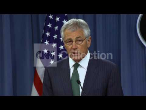 PENTAGON BRFG-HAGEL-SYRIA ARMING REBELS?
