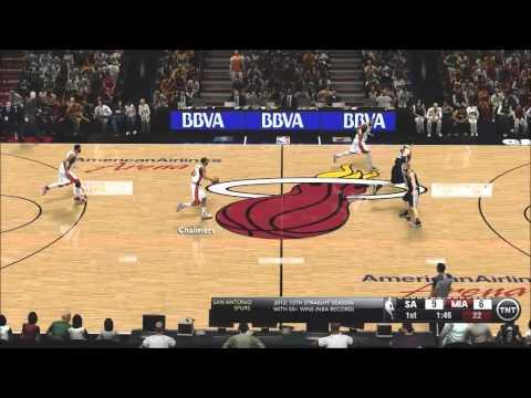 NBA 2K13 Graphics Mod [X ENB+SweetFx] [Heat vs Spurs]
