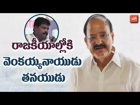Vice President Venkaiah Naidu Son Into Politics | AP Politics | Chandrababu | YS Jagan | YOYO TV