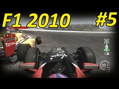 F1 2010 Career Mode Part 5: Turkey, Istanbul