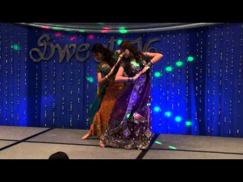 O Re Piya Sajde and Khwab Dekhe - dance medley at Anika & Priyanka...