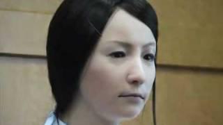 Creepy Robot Looks Like A Real Woman