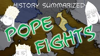 History Summarized: Pope Fights