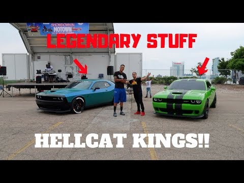 ME & TALL GUY CAR REVIEWS ARE FINALLY RACING OUR HELLCATS!!