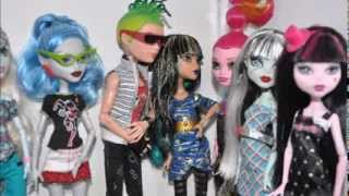 Monster High Christmas Stopmotion ( Special )