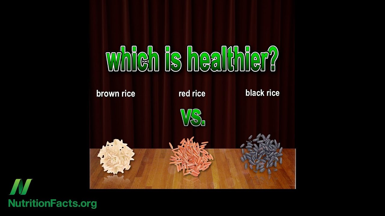 Brown Rice vs. Black Rice